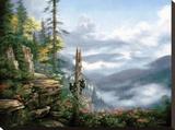 Smoky Mountains Reproducción de lámina sobre lienzo por Rudi Reichardt