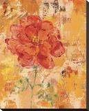 Marigolds II Bedruckte aufgespannte Leinwand von Lisa Ven Vertloh