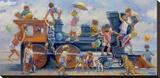 Joyride Bedruckte aufgespannte Leinwand von Lucelle Raad