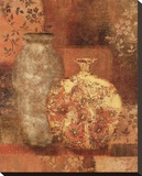 Patterned Urn I Bedruckte aufgespannte Leinwand von Lisa Ven Vertloh