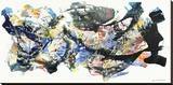 Senza titolo 2012, I Bedruckte aufgespannte Leinwand von Nino Mustica