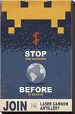 Stop the Invasion Before it Starts Impressão em tela esticada por Steve Thomas