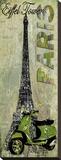 Tour Eiffel Toile tendue sur châssis par Karen J. Williams
