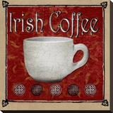 Irish Coffee Toile tendue sur châssis par Karen J. Williams