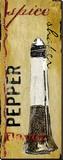 Pepper Shaker Toile tendue sur châssis par Karen J. Williams