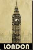 London Stretched Canvas Print by Kay Daichi