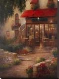 Restaurant Denou Pingotettu canvasvedos tekijänä D. W. Dai