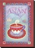 Té asiático Reproducción de lámina sobre lienzo por Sue Williams