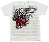 Fé, em inglês Camisetas
