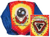 Long Sleeve: Grateful Dead - Space Your Face T-shirt a maniche lunghe