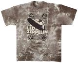Led Zeppelin - Zeppelin Poster T-Shirts