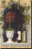 Olive Oil and Wine Arch II Reproducción de lámina sobre lienzo por  Welby