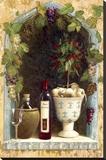 Olive Oil and Wine Arch I Reproducción de lámina sobre lienzo por  Welby
