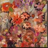 Garden of a Joyful Day Toile tendue sur châssis par Joan Elan Davis