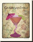 Cosmopolitan Stretched Canvas Print by Judy Mandolf
