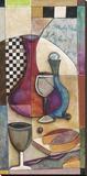Cabernet Toile tendue sur châssis par Jennifer Bonaventura