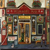 O'Connor's Pub Stretched Canvas Print by Suzanne Etienne
