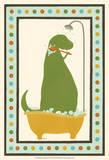 Rub-A-Dub Dino II Stampe di Erica J. Vess