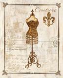 Paris Dress Form Kunst af Gregory Gorham