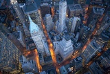Vue aérienne de Wall Street, New York Posters par Cameron Davidson