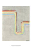 Retro Rhythm I Kunstdrucke von Vanna Lam