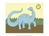 Prehistoric Playtime IV Poster di Pam Ilosky