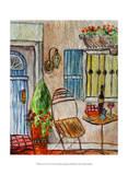 Greek Caf II Prints by Danielle Harrington