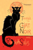 Tournee du Chat Noir Avec Rodolptte Salis Kunst af Théophile Alexandre Steinlen