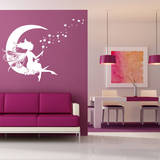 Moon Fairy Adesivo de parede