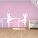 Bella Ballerina Adesivo de parede