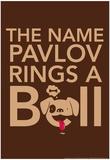 Pavlov Posters por  Snorg Tees