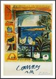 The Doves, 1957 Monteret tryk af Pablo Picasso