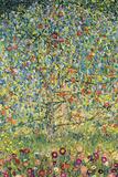 Æbletræ Poster af Gustav Klimt