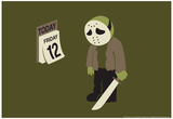 Friday the 12th Pósters por  Snorg Tees