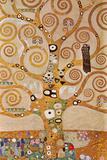 ストックレー・フリーズ=生命の樹 1905-09年 ポスター : グスタフ・クリムト