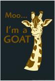 Giraffe Stampa di  Snorg Tees