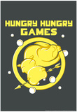 Hungry Hungry Games Plakater av  Snorg Tees