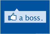 Like A Boss Poster por  Snorg Tees