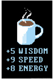 Coffee Points Print by  Snorg Tees