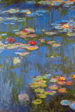 Water Lilies No. 3 Poster van Claude Monet