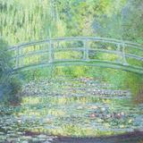 Lo stagno delle ninfee con il ponte giapponese, 1899 Poster di Claude Monet