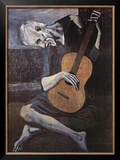 The Old Guitarist, c.1903 Poster por Pablo Picasso