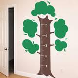 Measurement Tree Adesivo de parede