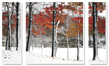 SnowFall Poster di Burney Lieberman