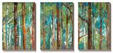 Allée forestière Posters par Caroline Gold