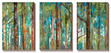 Verde bosco Poster di Caroline Gold