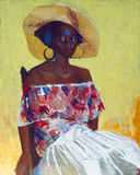 Off the Shoulder Giclee Print by Boscoe Holder