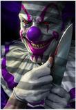 Mischief the Clown Posters par Tom Wood