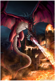 Incineration Affiches par Tom Wood