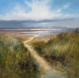 Seaside Path Giclee Print by Michael J. Sanders